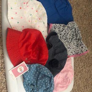 Other - Lot of Girl Hats size 2T-5T
